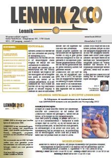 Infoblad 2012/01, JANUARI