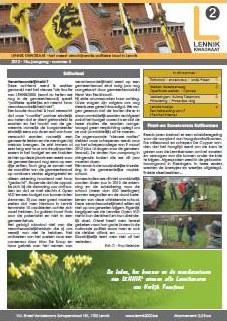 Infoblad 2012/05, APRIL