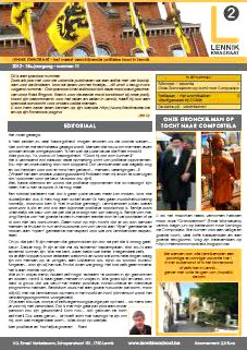 Infoblad 2012/11, JUNI