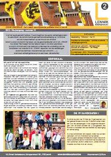 Infoblad 2012/13, JULI